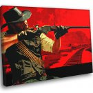 Red Dead Redemption John Marston Game Best Art 40x30 Framed Canvas Print