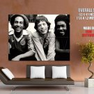 Bob Marley Mick Jagger Peter Tosh Backstage 1978 Retro GIANT Huge Print Poster
