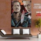 Inglourious Basterds Movie Aldo Raine Apache Art Giant Huge Print Poster