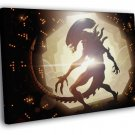 Aliens Xenomorph Awesome Movie Sci Fi Art 40x30 Framed Canvas Print