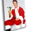 Arnold Schwarzenegger Merry Christmas Santa Claus 40x30 Framed Canvas Art Print