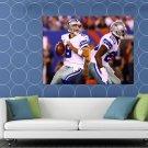 Dallas Cowboys Tony Romo Sport HUGE 48x36 Print POSTER
