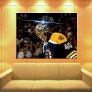 Tuukka Rask Boston Bruins Goaltender Hockey Sport Huge Giant Print Poster
