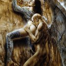 Luis Royo Fantasy Art Fallen Angel Demon 24x18 Wall Print POSTER