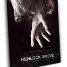 Hemlock Grove Werewolf TV Series 30x20 Framed Canvas Print