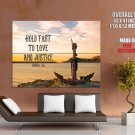 Bible Verses Hosea 12 6 Quote Giant Huge Wall Print Poster