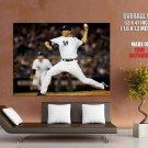 Mariano Rivera Baseball Pitcher New York Yankees Sport Giant Huge Print Poster
