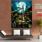 Teenage Mutant Ninja Turtles Red Masks Art TMNT GIANT Huge Print Poster