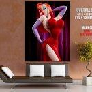 Jessica Rabbit Who Framed Roger Rabbit Sultry Singer Giant Huge Print Poster