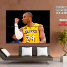 Kobe Bryant Los Angeles Lakers Basketball Sport Giant Huge Print Poster