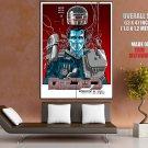 Robocop Murphy Armor Helmet Painting Movie 1987 Giant Huge Print Poster