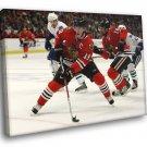 Jonathan Toews Chicago Blackhawks Hockey Sport 50x40 Framed Canvas Print