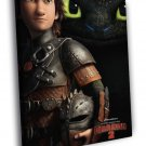 How To Train Your Dragon 2 Awesome Movie 40x30 Framed Canvas Print