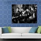 Sex Pistols Rare Sid Vicious Guitars Punk Rock Band HUGE 48x36 Print POSTER