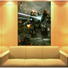 Aws Mech Warrior Online Ppc Mwo Mech Game Art Huge Giant Print Poster