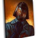 Cobra Commander G I Joe Awesome Art 30x20 Framed Canvas Print