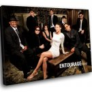 Entourage TV Series Cast 30x20 Framed Canvas Art Print