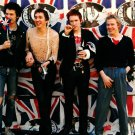 Sex Pistols UK Flag Sid Vicious Guitars Punk Rock Band 32x24 Wall Print POSTER