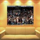 Rudy Gay Buzzer Beater Game Winner Basketball Huge Giant Print Poster
