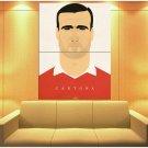 Eric Cantona Portrait Manchester United Cool Art Huge Giant Print Poster