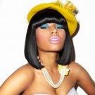 Nicki Minaj Rapper Cute Make Up Hat 16x12 Print Poster