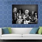 Guns N Roses Retro Matt Sorum Slash Duff Axl Izzy Band HUGE 48x36 Print POSTER