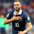 Karim Benzema France Goal Celebration Soccer Football 32x24 Wall Print POSTER