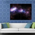 Amazing Beautiful Universe Nebula Space Galaxy Stars HUGE 48x36 Print POSTER