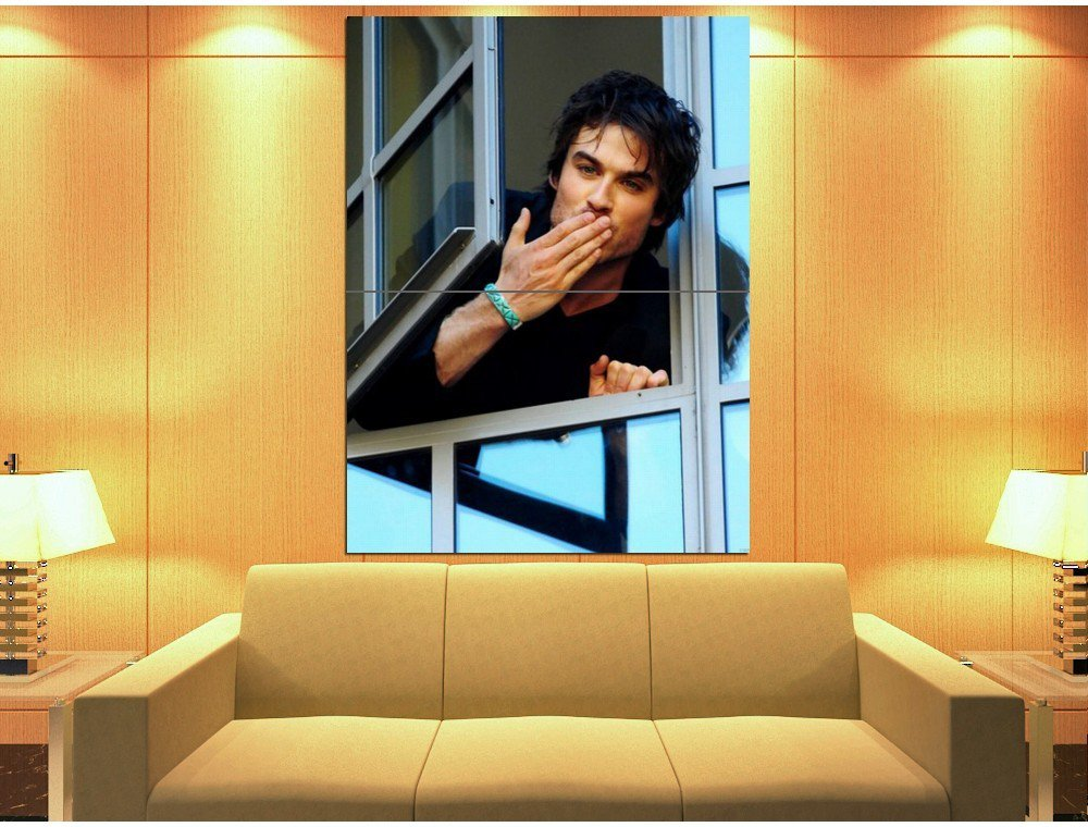 Ian Somerhalder The Vampire Diaries Actor 47x35 Print Poster