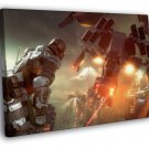 Killzone Shadow Fall Video Game Awesome Art 30x20 Framed Canvas Print