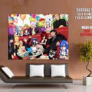 Fairy Tail Characters Scarlet Natsu Loxar Redfox Anime GIANT Huge Print Poster