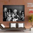 Guns N Roses Retro Matt Sorum Slash Duff Axl Izzy Band GIANT Huge Print Poster