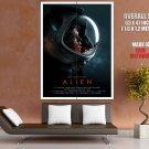 Alien 1979 Movie Art Ellen Ripley Sigourney Weaver GIANT Huge Print Poster