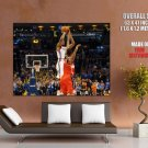 Kevin Durant Game Winner Jump Shot Basketball Giant Huge Print Poster