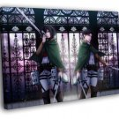Attack On Titan Shingeki No Kyojin Rivaille 50x40 Framed Canvas Print