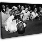 Big Jay McNeely Olympic Auditorium LA 1953 50x40 Framed Canvas Print