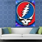 Grateful Dead Logo Rock Band Art Huge 48x36 Print Poster