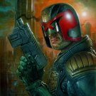 Dredd 2012 Movie Judge Awesome Painting Art 16x12 Print Poster