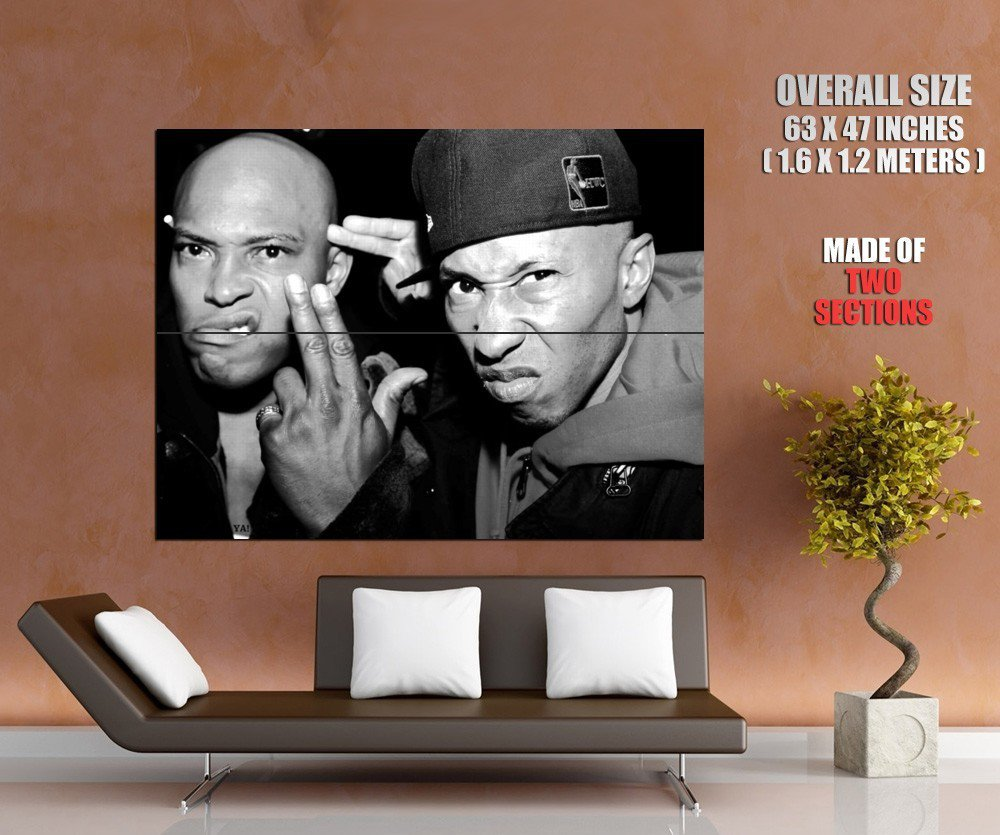 Onyx Retro Angry Sticky Fingaz Fredro Starr Group Band GIANT Huge Print Poster