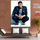 Drake Jacket Squatting Handsome Rap Music Artist Singer GIANT Huge Print Poster