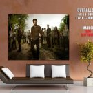 The Walking Dead Cast Characters Survivors TV Series GIANT Huge Print Poster
