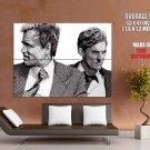 Woody Harrelson Matthew McConaughey Art True Detective GIANT Huge Print Poster