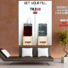 Get Your Fill Water Cooler Awesome True Blood TV Series GIANT Huge Print Poster