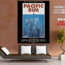 Pacific Rim Awesome Retro Art Kaiju GIANT Huge Print Poster
