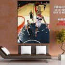 Bradley Beal Washington Wizards Dunk Basketball Sport GIANT Huge Print Poster