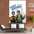 Flight Of Conchords Band Bret McKenzie Jemaine Clement GIANT Huge Print Poster