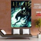 Aliens Xenomorph Creepy Creatures Art GIANT Huge Print Poster