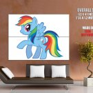Rainbow Dash My Little Pony Friendship Is Magic Cute GIANT Huge Print Poster