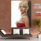 Tricia Helfer Beautiful Hot Actress Sexy Red Dress GIANT Huge Print Poster
