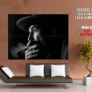 Daniel Day Lewis There Will Be Blood Smoking Portrait GIANT Huge Print Poster